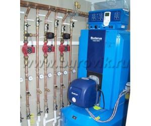 Система дизельного отопления дома
