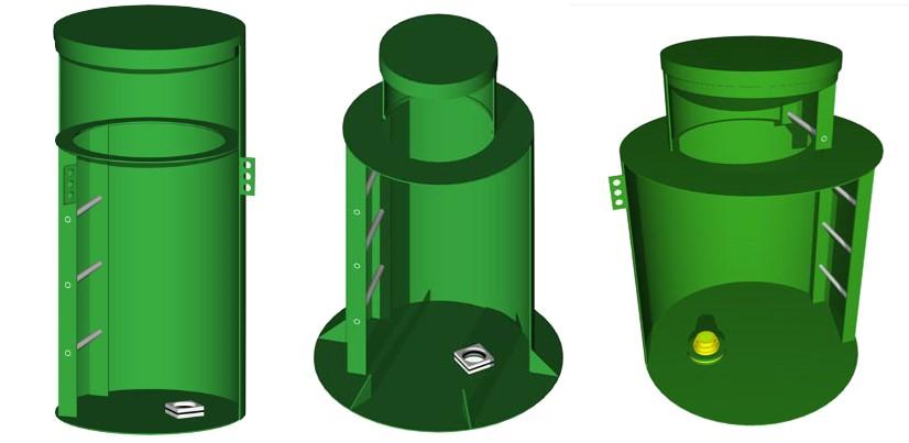 Пластиковый кессон для скважин
