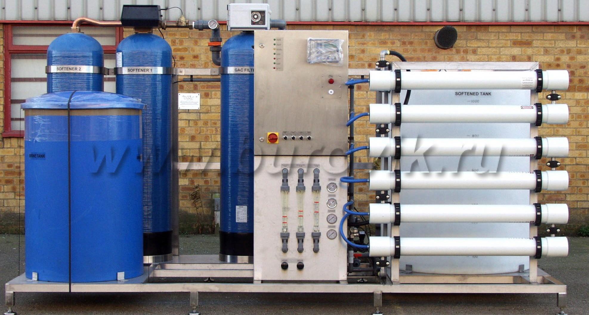 настройка электронной аппаратуры управления систем водоподготовки