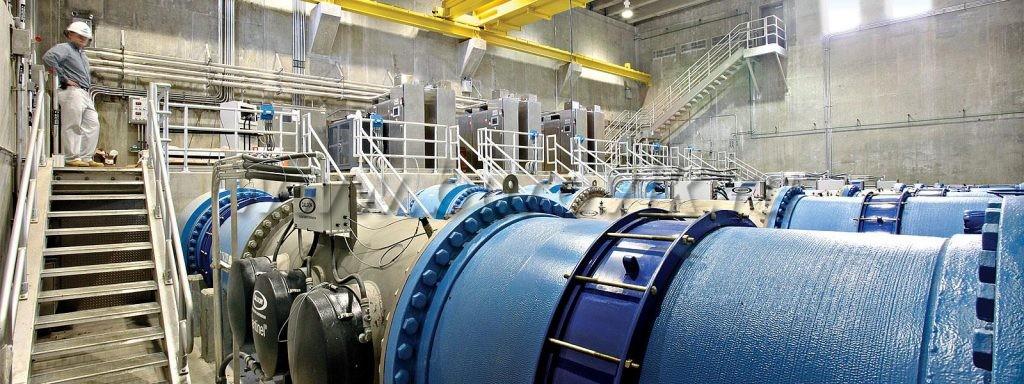 Промышленная очистка воды из скважины