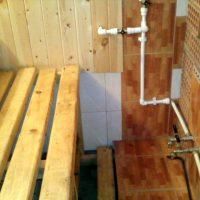 Как сделать водоснабжение бани на даче