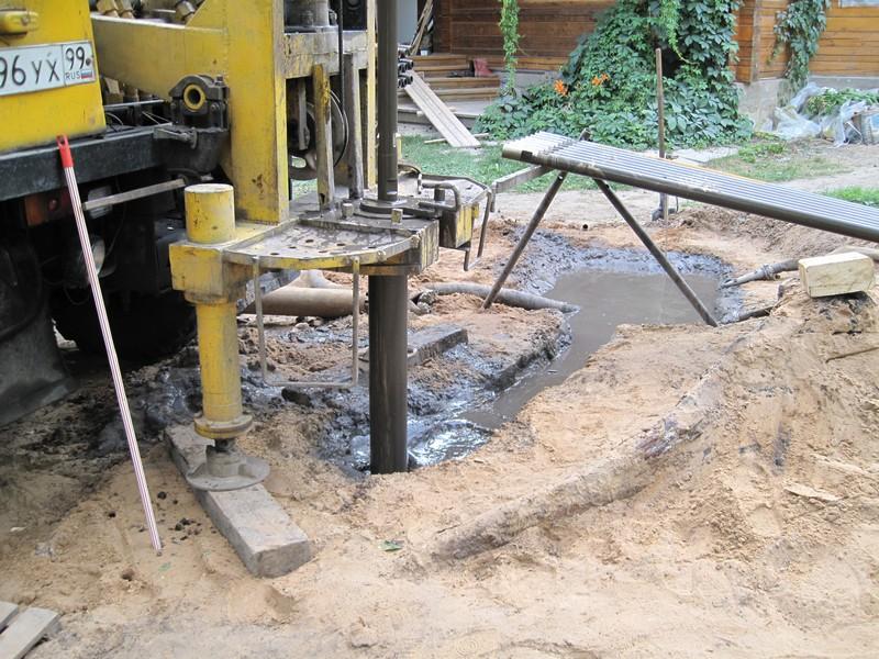 Бурение скважины на воду в подвале дома