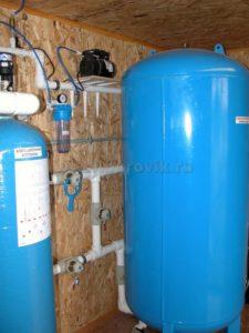 установки системы водоочистки<