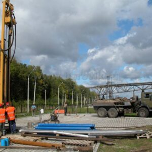 Бурение скважины на воду коттеджный посёлок Лужки-2
